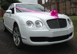 Bentley Wedding Car Hire Sheffield