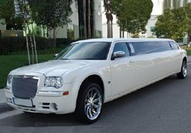Chrysler Baby Bentley Prom Limo Hire Leeds