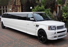 Range Rover Sport Limo Hire Mansfield