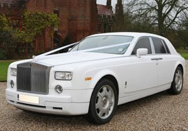 Rolls Royce Phantom Wedding Car Hire Sheffield