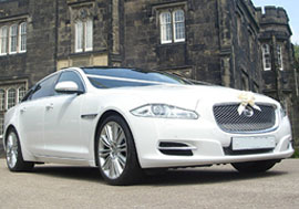 Jaguar Wedding Car Hire Leeds
