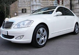 Mercedes Wedding Car Hire Sheffield