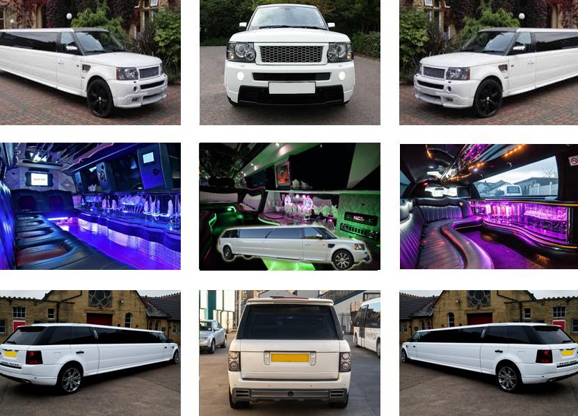 Range Rover Sport Limo Hire