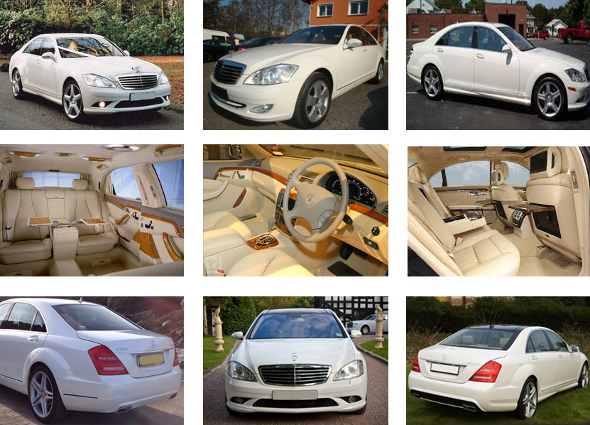Mercedes Wedding Car Hire Premier Limo Hire